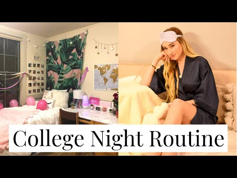 COLLEGE NIGHT ROUTINE | Harvard Freshman 2019