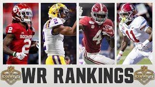 2020 NFL Draft WIDE RECEIVER Rankings   NFL Draft WR Rankings 2020