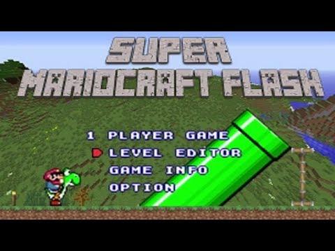 Super Mariocraft Flash - 1 Player Game Playthrough