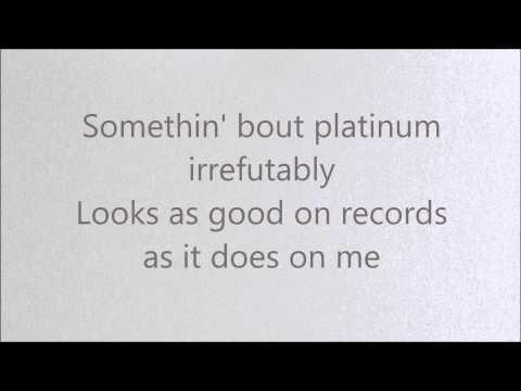 Platinum Lyrics Miranda Lambert HQ