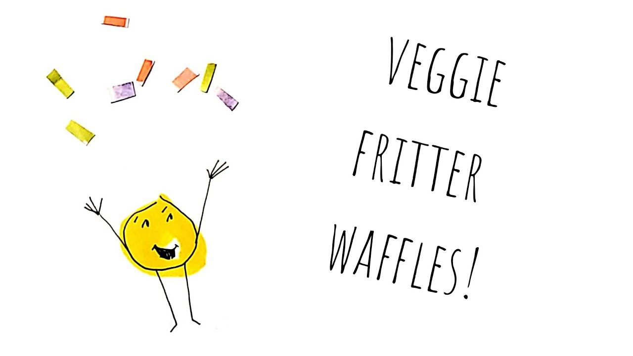 Part 2- Leigh Sings Songs and Makes Waffles (Veggie Waffle Fritters)