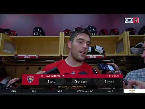 Ian McCoshen -- Florida Panthers vs St. Louis Blues 10/12/17