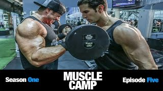 Muscle Camp TV Ep.5: Shoulder and Arm Workouts for Mass