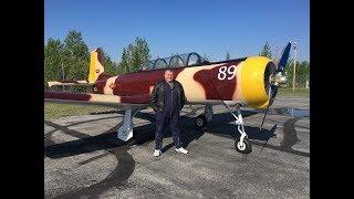 CJ-6A Nanchang Flight with Dan Jones