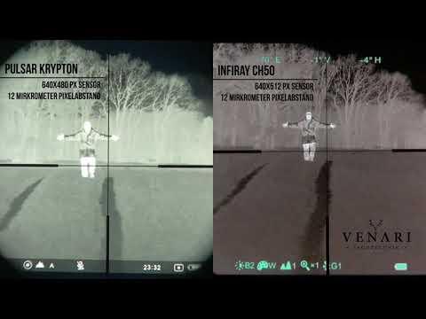 Pulsar Krypton vs Xeye CH50 - Testaufnahmen