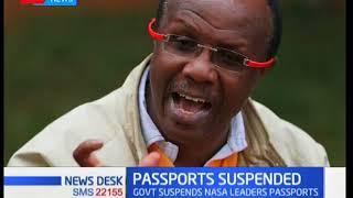 Government suspends NASA leaders\' passports
