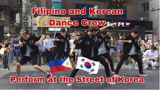 A Filipino Dancer with Korean Dancers ? Korean Reacts #dancecover