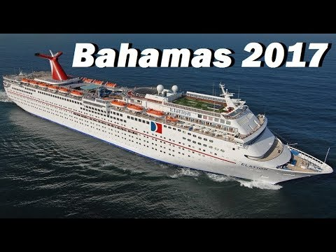 Carnival Elation Cruise to the Bahamas 2017  |  Tour of the Ship