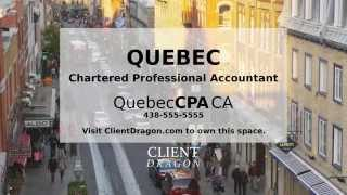 Quebec Chartered Professional Accountant CPA