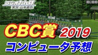 2019年 CBC賞 コンピュータ予想 実力重視設定【競馬シミュレーション】