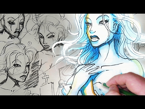 Sexy Apocalypse Ghost! - Character Design Session