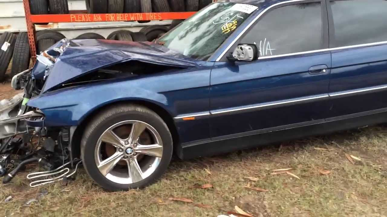 hight resolution of 2000 bmw 740il for parts