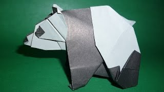 Origami Panda Instructions (Fumiaki Kawahata)