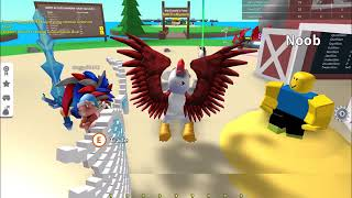 From Level 1 To Level 2000!!! (Sped Up With Music) | Egg Farm Simulator | Roblox