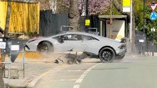 Lamborghini Performante LOSES control and CRASHES into a Tree!