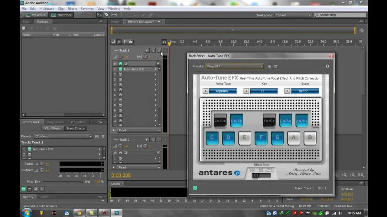auto tune efx for adobe audition cs 5 windows 7 youtube. Black Bedroom Furniture Sets. Home Design Ideas