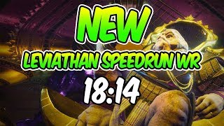 *NEW* Leviathan WORLD RECORD Speedrun! [18:14]