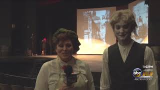 Scrooge! begins at the Forest Roberts Theatre