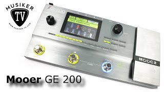 Mooer GE 200 - Review