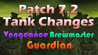 Patch 72 Tank Changes - Vengeance Guardian Brewmaster