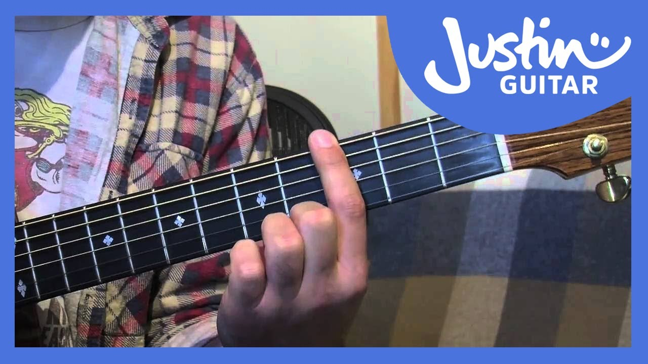 E Shape Barre Chord Grip Major And Minor Guitar Lesson Im 111 How