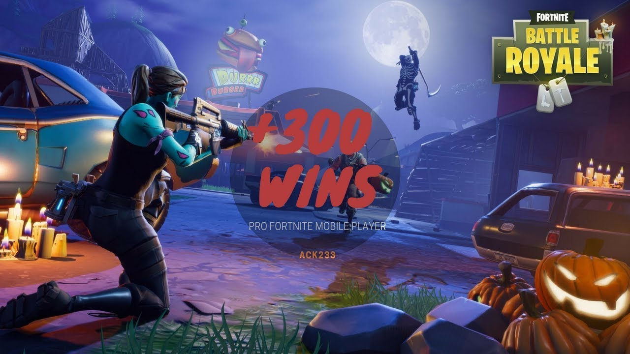 PRO FORTNITE MOBILE PLAYER!!! +600 WINS! - YouTube