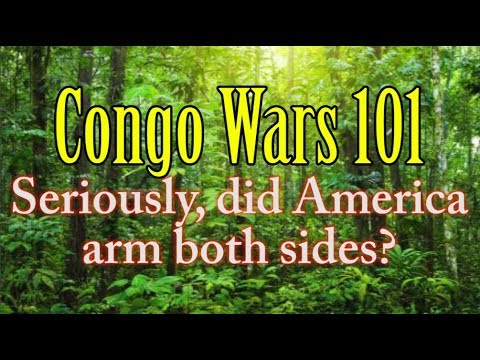 Congo Wars 101: US Arms Both Sides   Political Comedy