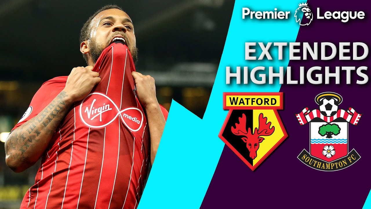 Watford v. Southampton | PREMIER LEAGUE EXTENDED HIGHLIGHTS | 4/23/19 | NBC Sports