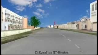 The 3D IIT Roorkee campus video