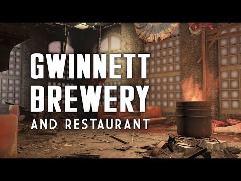 The Full Story of the Gwinnett Brewery & Restaurant - Who Was Button Gwinnett? - Fallout 4 Lore