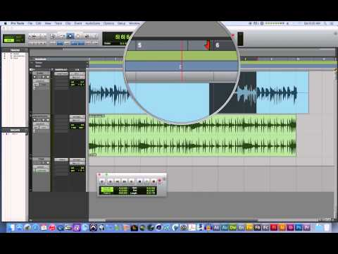 Pro Tools 11 – #02 – Punch In Audio Recordings, Fade and Consolidate Clips