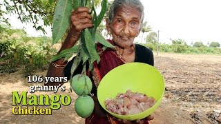 Mango Chicken Curry By 106 Years Old Granny