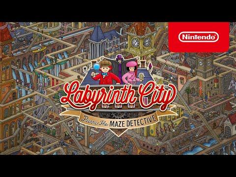 Labyrinth City: Pierre the Maze Detective -Announcement Trailer - Nintendo Switch