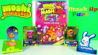 Moshi Monsters Mash Up Party Trading Cards Starter Pack Kids Review & Pack Opening, Topps