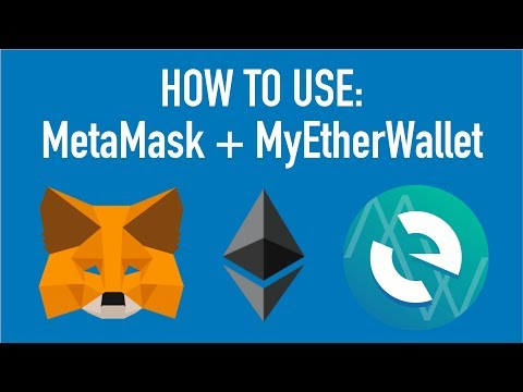 HOW TO: Use MetaMask and MyEtherWallet To Send Ether & Tokens!