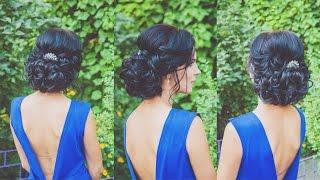 ПРИЧЕСКА НА КОРОТКИЕ ВОЛОСЫ. Прическа с искусственными волосами. LOZNITSA
