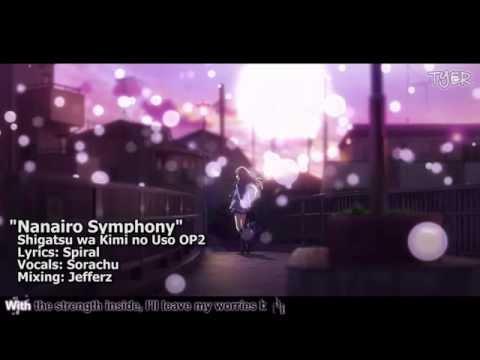 [TYER] English Shigatsu wa Kimi no Uso OP2 -