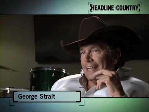 "George Strait Opens Up in Rare Interview on ""Headline Country"""