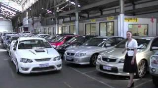 Westside auto in partnership with Show and sell cars in Perth Western Australia