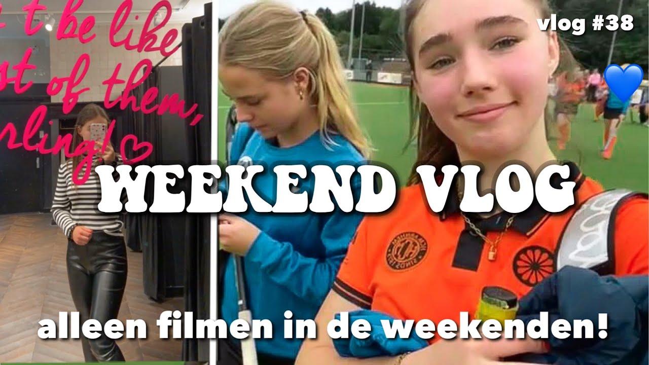 Download ALLEEN FILMEN IN HET WEEKEND!WEEKEND VLOG 💙 vlog #38