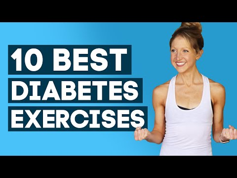 10 Best Diabetes Exercises to Lower Blood Sugar Exercise Diabetes Workout