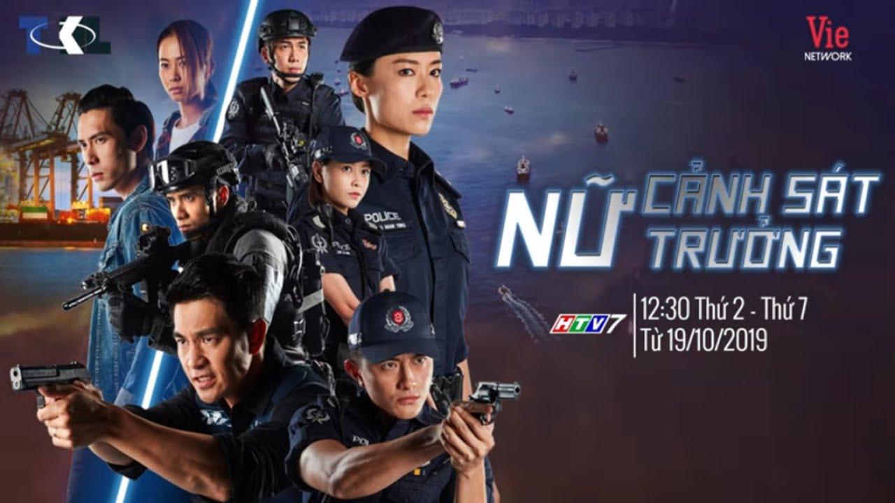 NỮ CẢNH SÁT TRƯỞNG (TRAILER) phát sóng 12h30 thứ 2 - thứ 7 hàng tuần trên kênh HTV7 từ ngày 19/10
