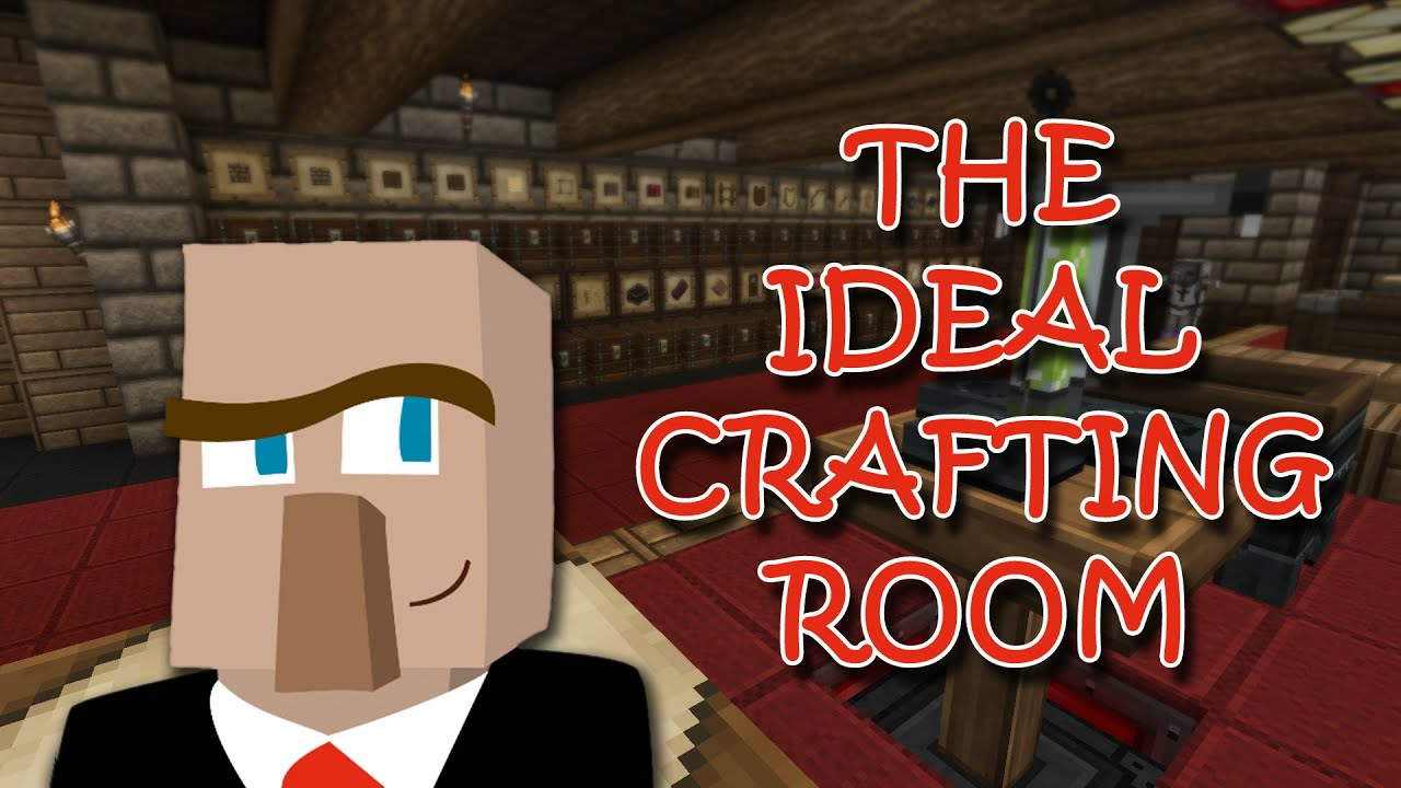 Technology Management Image: BUILD THE IDEAL CRAFTING AND STORAGE ROOM: A Minecraft How