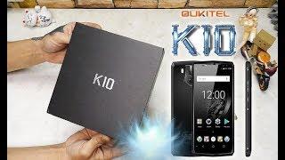 📱 OUKITEL K10. 11000 mAh + NFC. НОВИНКА КИТАЙФОНА 2018! Распаковка и Обзор 📱
