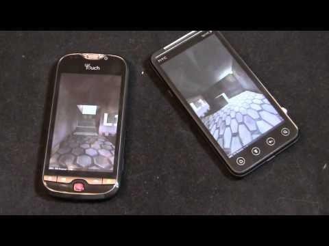 T-Mobile myTouch 4G Slide vs. HTC EVO 3D Dogfight Part 2