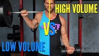 High Volume Training VS Low Volume Training Which Is Best?