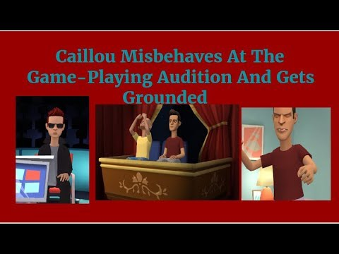 Caillou Misbehaves At The Game-Playing...