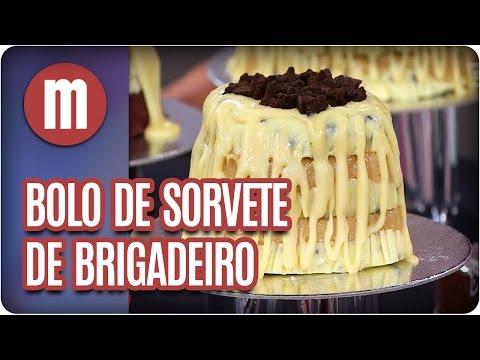 Bolo sorvete de brigadeiro - Mulheres (27/04/17)