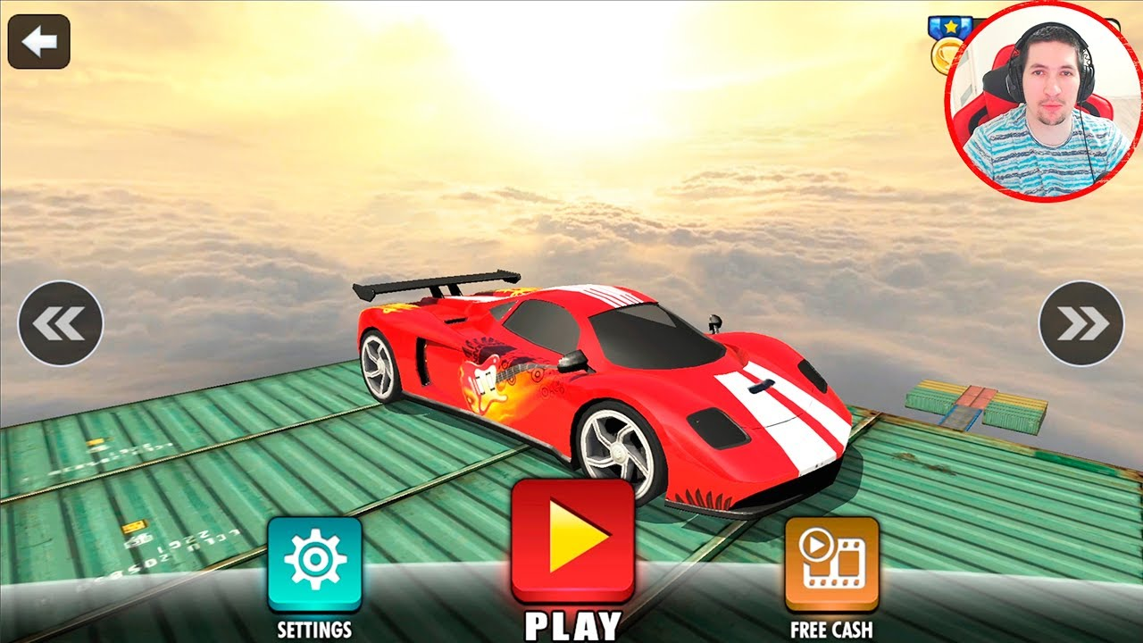 Mega Ramp Racing Impossible Tracks 3D #2 - Android Gameplay