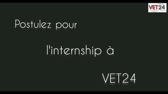 Vet24 recrute ses internes pour 2020-2021